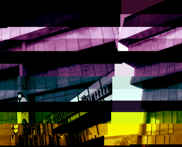 Glitched Ziggurat